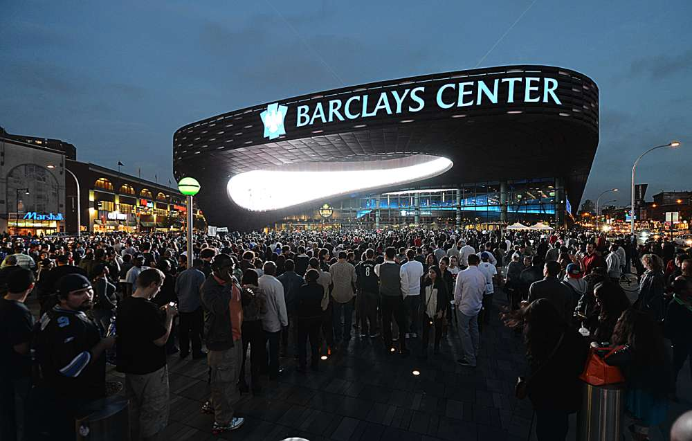 Barclay Center What A Joke Ed B On Sports