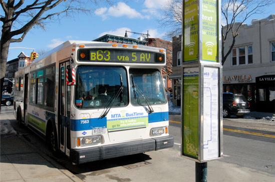 Mta To Present Quot Bus Time Quot In Brooklyn Ourbksocial
