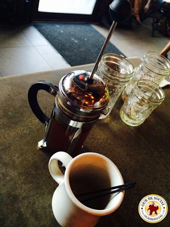 Fench Press Coffee