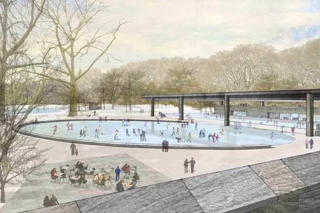 Rink Prospect Park Lakeside is Prospect Park's