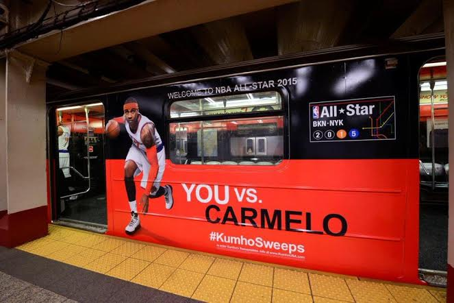 NBA & Kumho Tire Unveil Fresh NBA All-Star Subway Cars