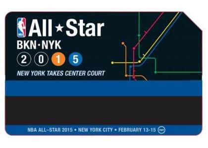 MTA Releases Limited Edition NBA All-Star Metro Cards