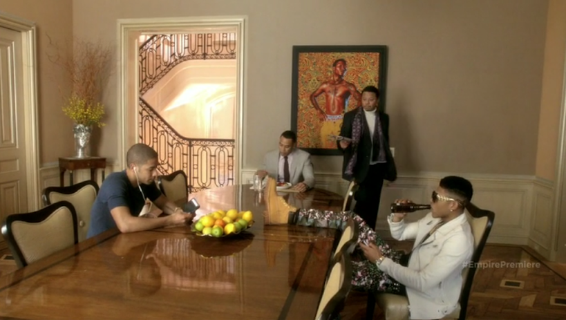 "Brooklyn Museum Exhibit's Artist Work Spotted On Fox's ""Empire"""