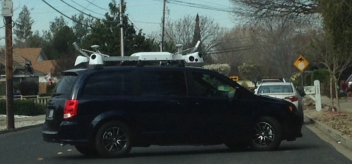 Dodge Self-Driving Car Spotted Being Tested In Brooklyn?