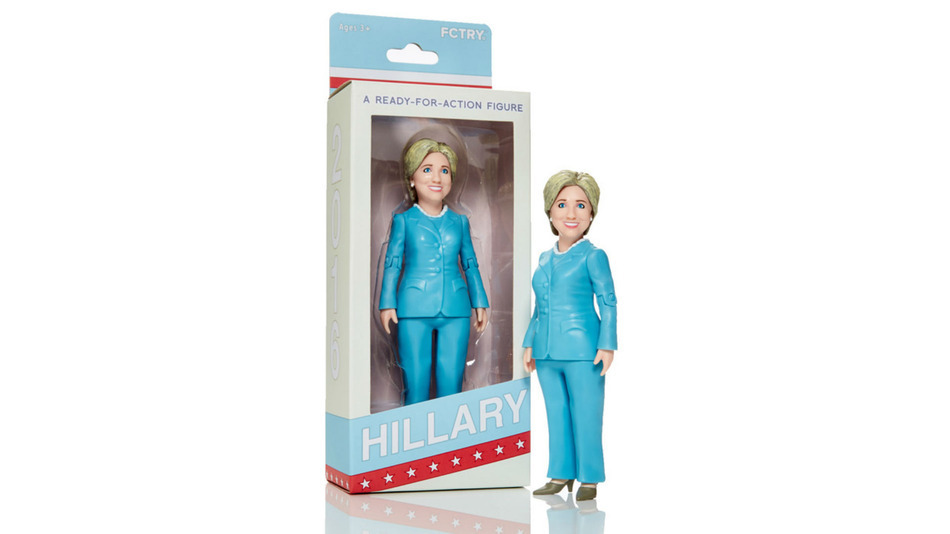 Does Your Kid Need A Hillary Clinton Action Figure?
