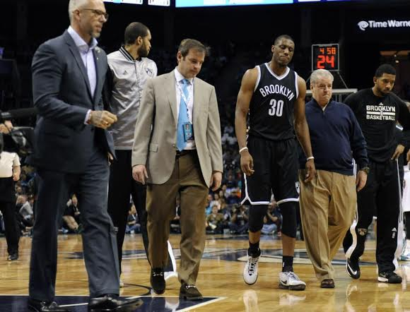 Thaddeus Young Suffers Knee Injury, Out For Game Against Cavs