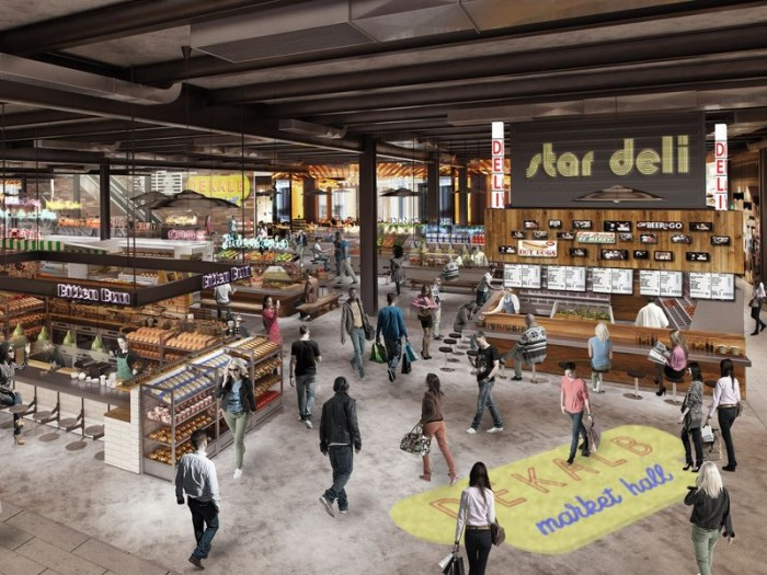 There's A Gigantic Food Hall On Its Way To Downtown Brooklyn