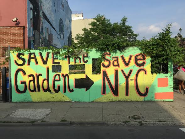 "Help Save ""Roger That Garden Project"" In Crown Heights"