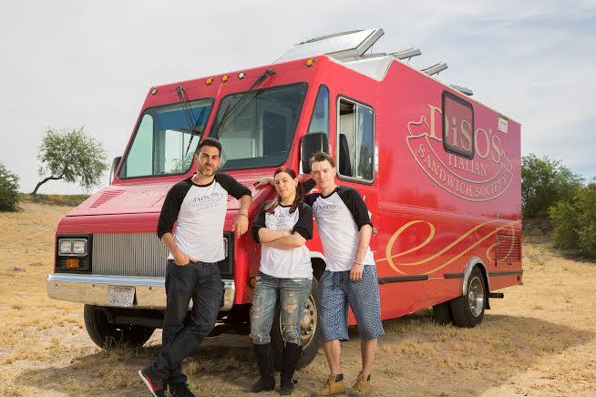 Diso's Italian Sandwich To Compete In TV Food Truck Competiton