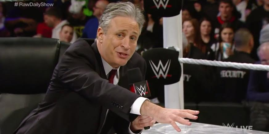 Jon Stewart Set To Host WWE SummerSlam At Barclays Center
