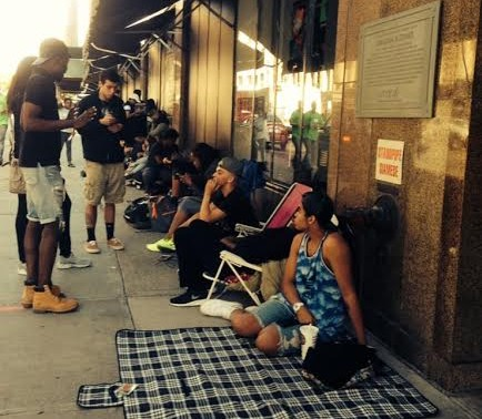 Rihanna's Brooklyn Navy Camps Out For Days To Meet Her