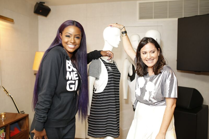 Justine Skye Takes Both Her Fashion And Vocal Talents To NYFW