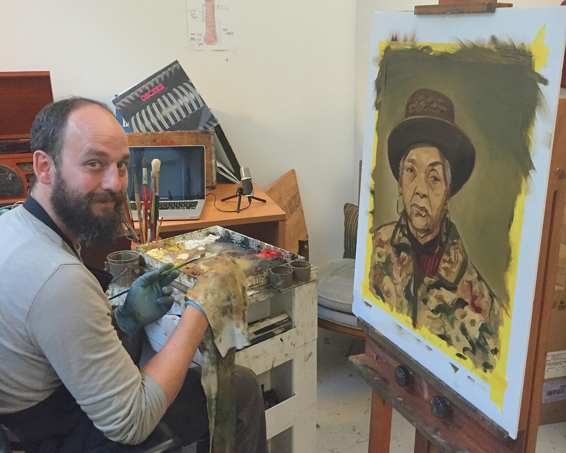 Local Artist Captures Crown Heights Community On Canvas