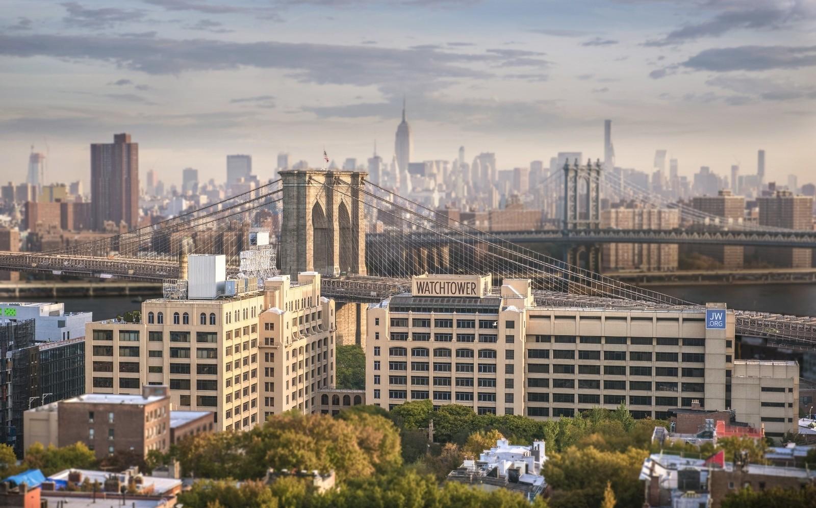 Watchtower Buildings For Sale In Brooklyn