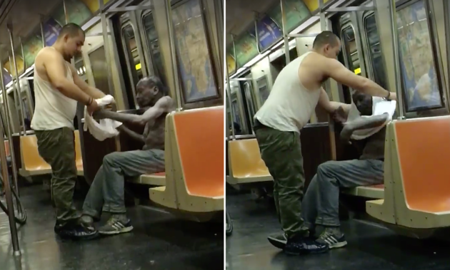 The Viral Video Of A Stranger's Kindness Is Pure Monday Motivation