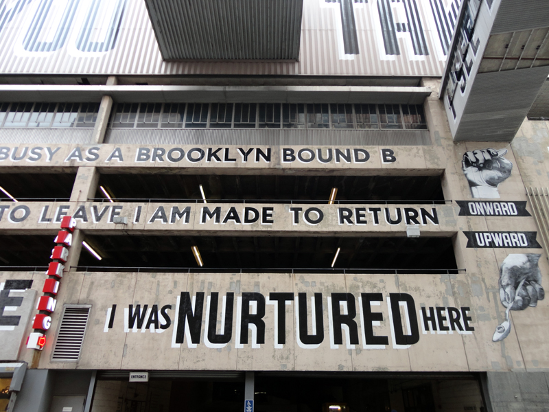 Say Goodbye To Downtown's 'Love Letter To Brooklyn' Street Art