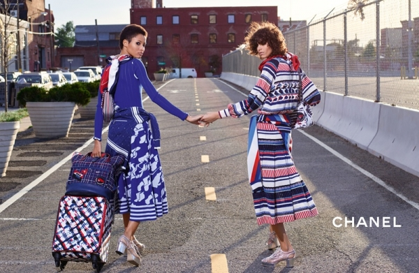 Karl Lagerfeld Shot Chanel Spring/Summer 2016 Ads In Brooklyn