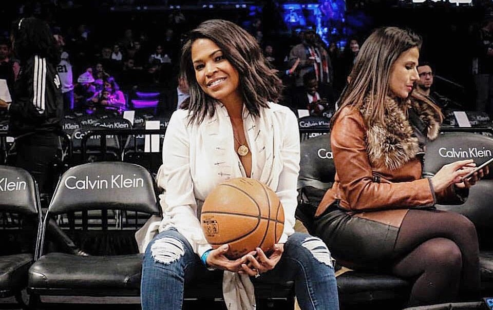Interview: Nia Long Spotted At Nets Game; Talks New TV Show & Movie