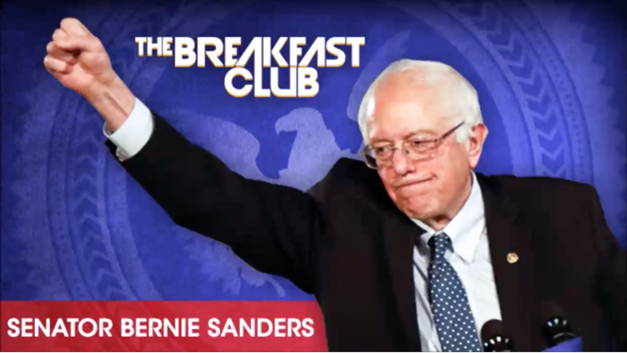 Bernie Sanders Talks Trump & Brooklyn With The Breakfast Club