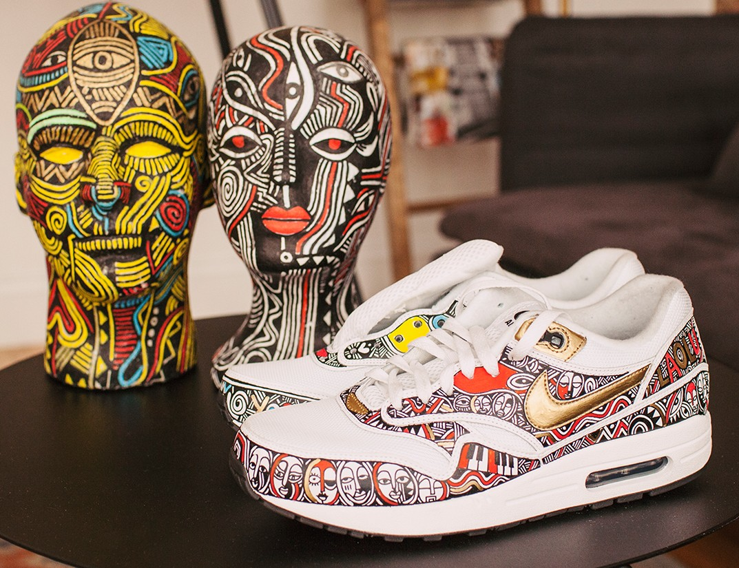 Brooklyn-based Artist Showcases Fab Nike Collaboration At Air Max Con