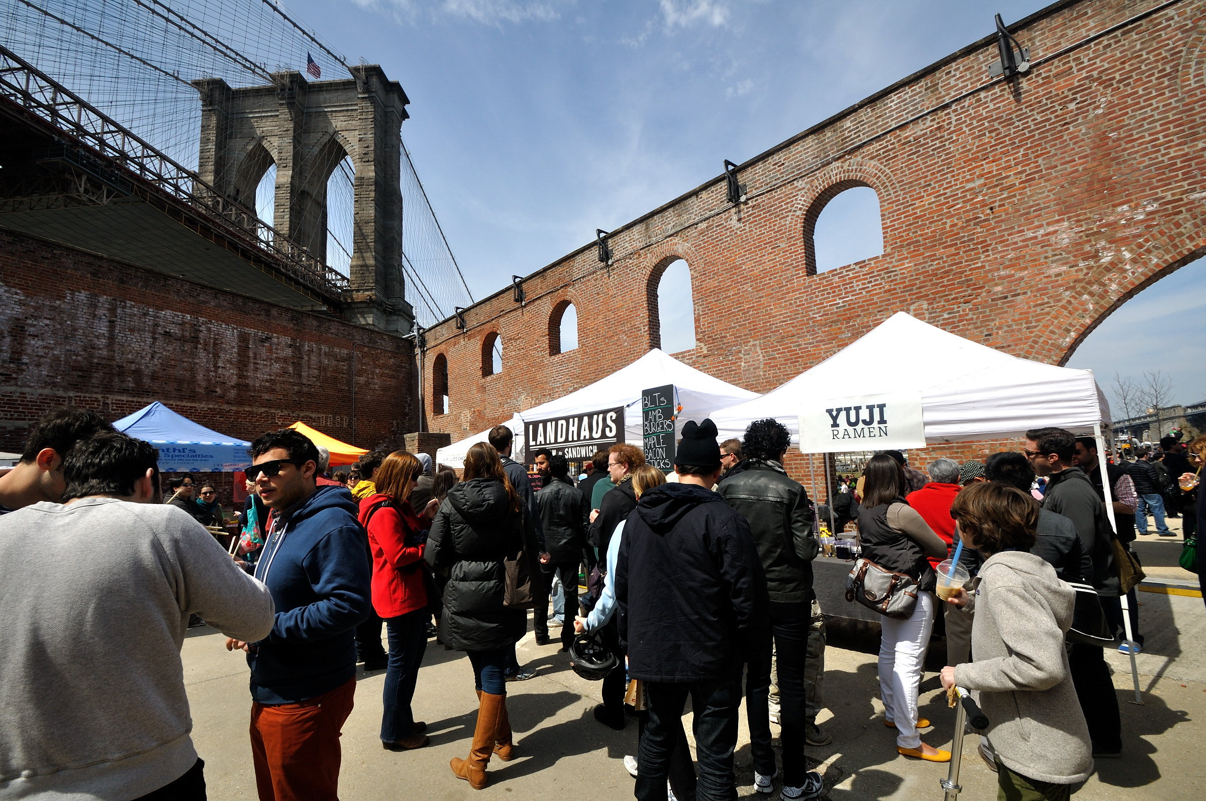 Brooklyn Flea Will Find A New Home In DUMBO This Spring