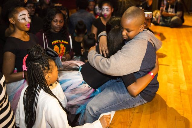 Young Student Receives Positive Reinforcements After Dealing With Bullies