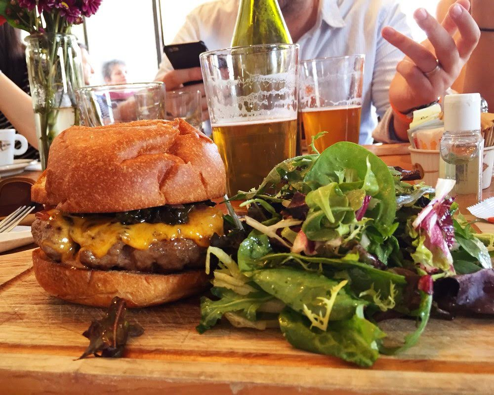 Clinton Hill's Hidden Gem Is The Perfect Spot To Drink & Have An (Oxtail) Burger