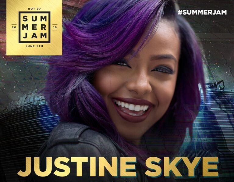 Hot 97 Summer Jam Festival Line-up Announced & It Includes Justine Skye