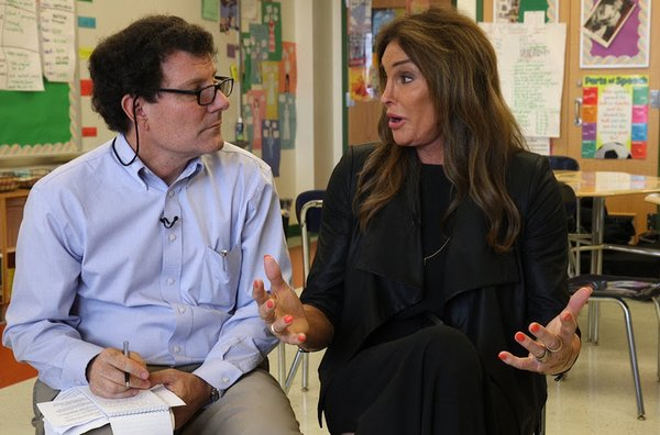 Caitlyn Jenner Meets With LGBT Students At An East New York High School
