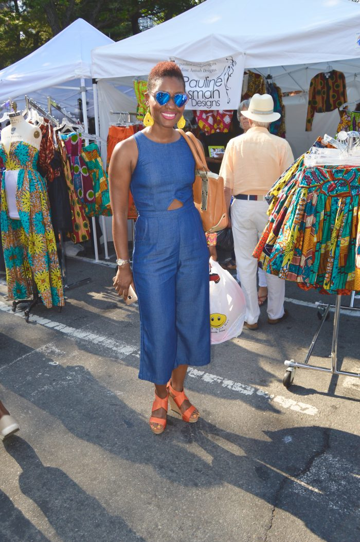 12 Stunning Street Style Looks From BAM's 39th Annual DanceAfrica Bazaar
