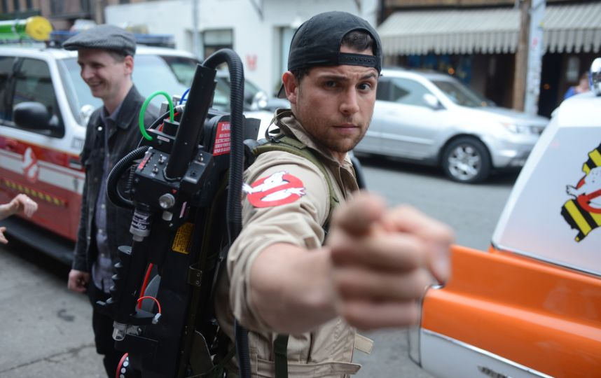 Temporary Ghostbusters Headquarters Opens In Williamsburg