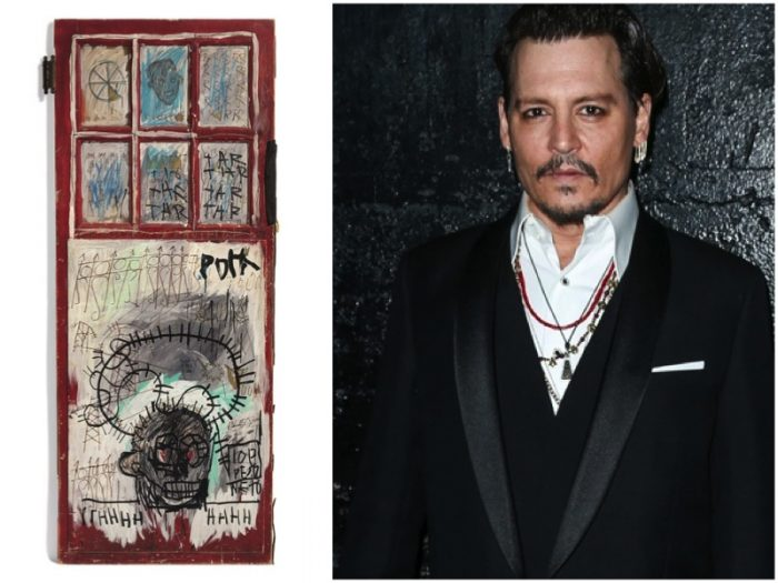 Johnny Depp Puts Pricey Basquiat Collection Up For Auction