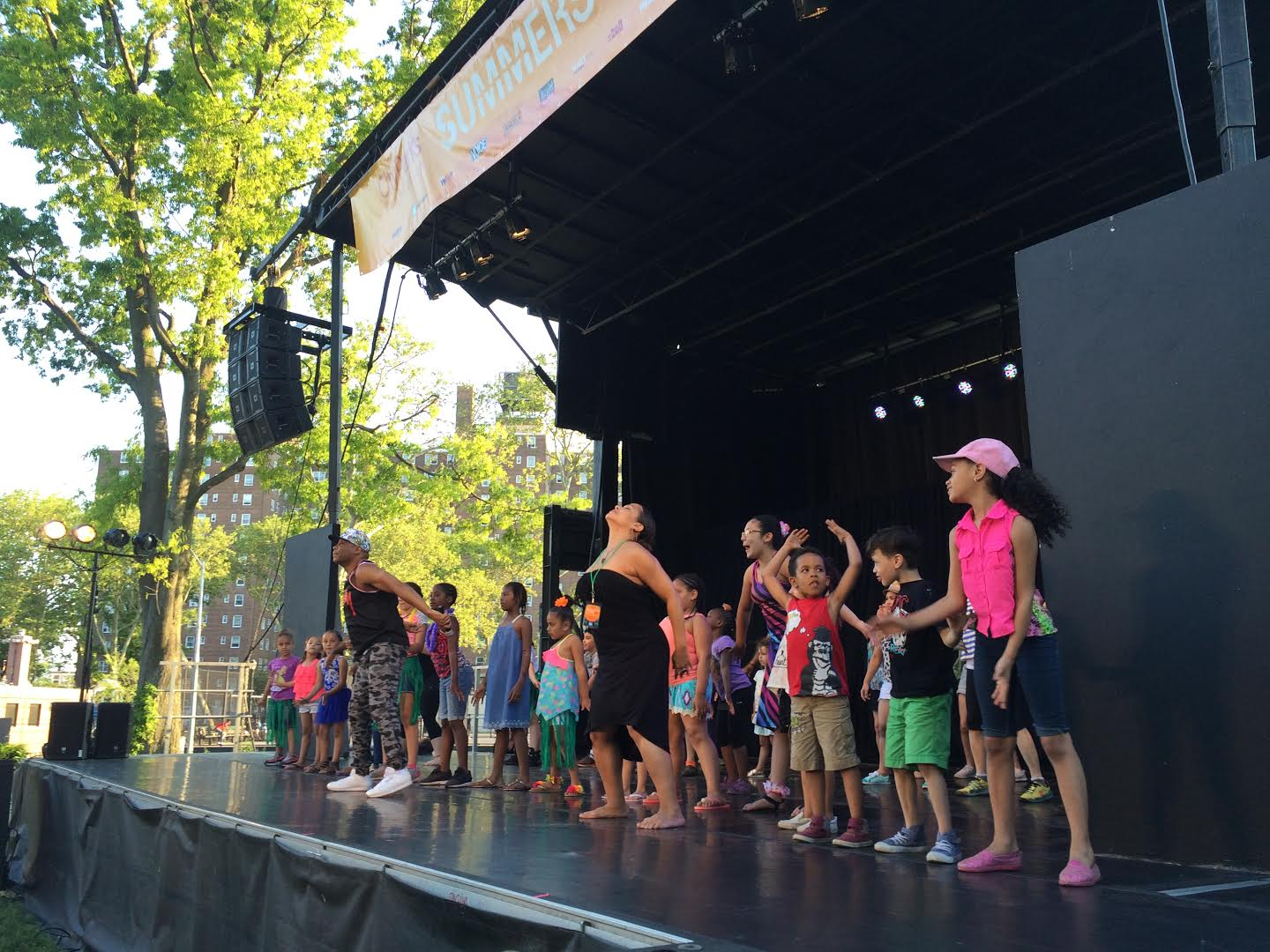 Dance On The Lawn Festival Leaps Into Coffey Park