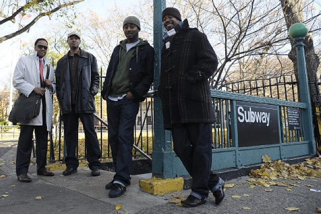 Group Of Bed-Stuy Men Act As Bodyguards And Escort Pedestrians Home From The Subway To Keep Them Safe