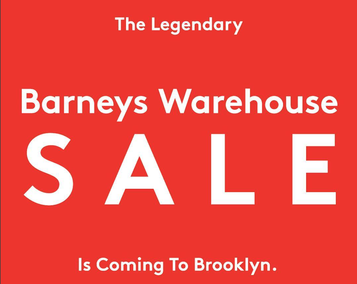 Famous Barneys Warehouse Sale Is Moving To Williamsburg