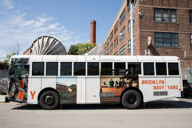 Brooklyn Navy Yard Launches FREE Shuttle Bus Service