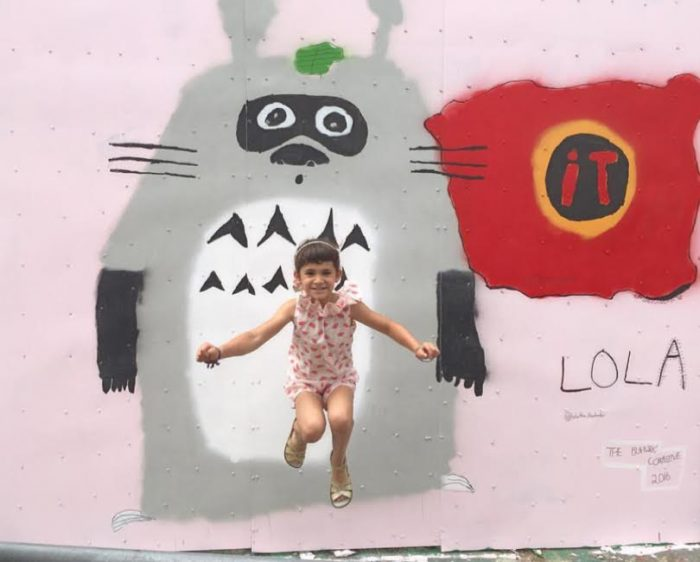 7-Year-Old Brooklyn-based Artist Is Perfectly Painting The Walls Of Bushwick
