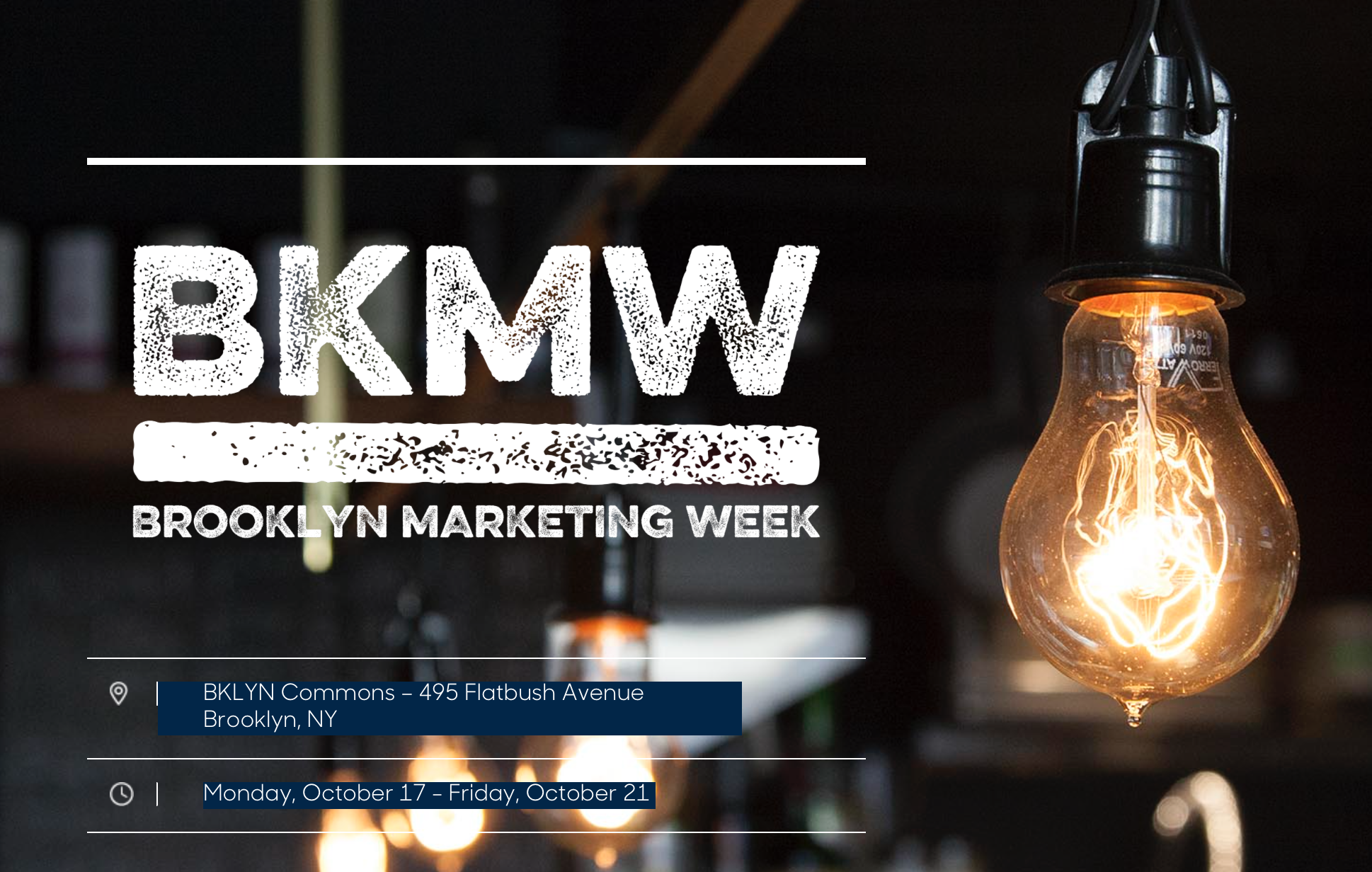 Brooklyn Marketing Week Aims To Help Every Entrepreneur And Small Business Leader Succeed