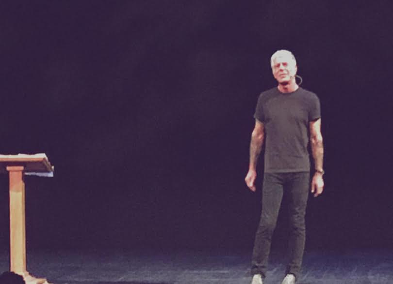 Anthony Bourdain Left Brooklynites Full After Bringing 'The Hunger' Tour To BAM