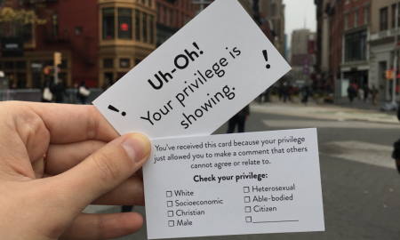 Brooklyn Artist Quickly Sells Out of Viral 'Privilege Cards'