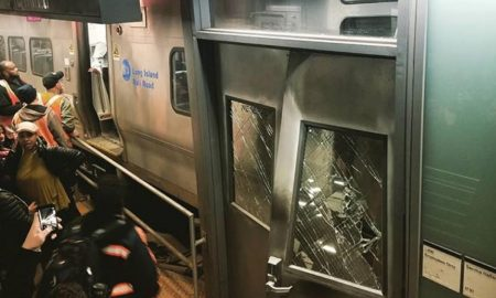 LIRR Derails At Atlantic Terminal Leaving More Than 100 Injured