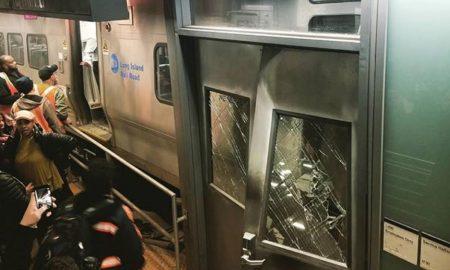 LIRR Derails At Atlantic Terminal Leaving More Than 100 Injured