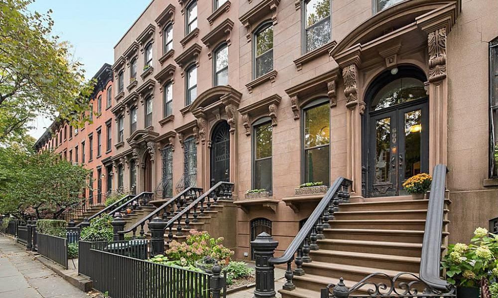 Brooklyn Brownstones | Photo By JDHRosewater/Flickr CC