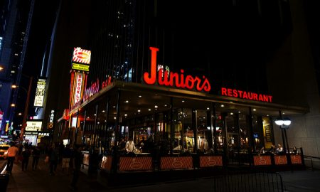 Junior's Restaurant Opens Massive Outpost in Theater District