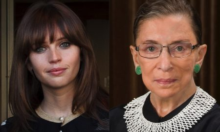 Felicity Jones To Play Brooklyn's Own Ruth Bader Ginsburg in 'On The Basis Of Sex'