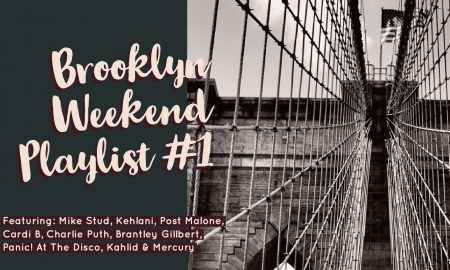 Brooklyn Weekend Playlist #1: Charlie Puth, Khalid, Kehlani & More