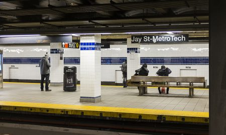 Elderly Man Dead After Being Shoved Onto Subway Tracks At Jay Street-Metro Tech, NYPD Says