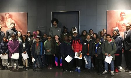 Brooklyn Nets and Black Fives Host Tour for Salvation Army Kids